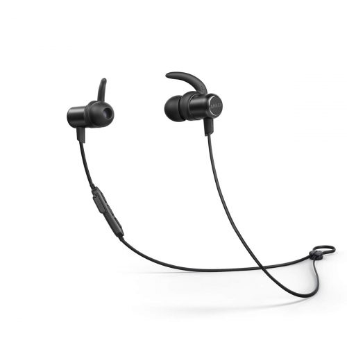 Bluetooth Headphones, Anker SoundBuds Slim Wireless Workout Headphones,10-Hour Playtime, Bluetooth 5.0, IPX7 Waterproof Magnetic Wireless Earbuds, Bluetooth...
