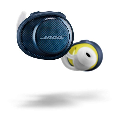 Bose SoundSport Free Truly Wireless Sport Headphones - Midnight Blue / Citron