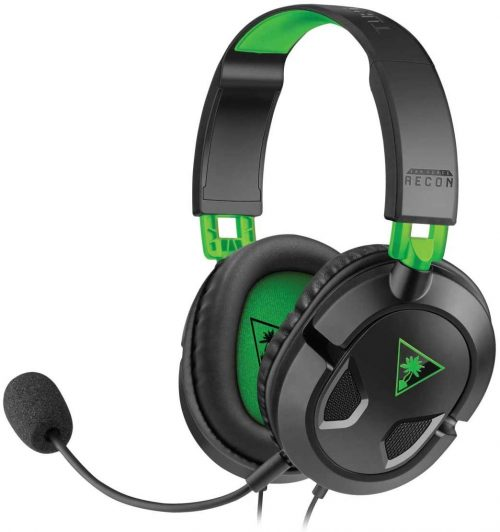 Turtle Beach - Ear Force Recon 50X Stereo Gaming Headset - Xbox One (compatible w/ Xbox One controller w/ 3.5mm headset jack) and PS4 by Turtle Beach