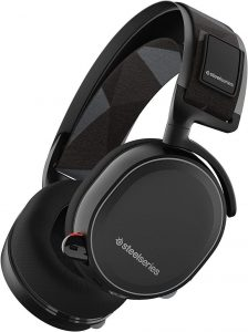 SteelSeries Arctis 7 Lag-Free Wireless Gaming Headset with DTS Headphone:X 7.1 Surround for PC, Playstation 4, VR, Mac and Wired for Nintendo Switch,...