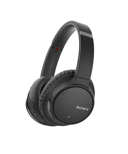 Sony WH-CH700N Wireless Bluetooth Noise Canceling Over the Ear Headphones with Alexa Voice Control - Black