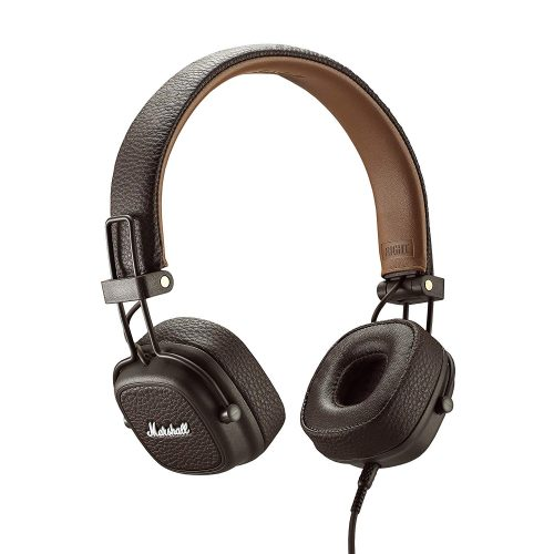Marshall Major III Wired On-Ear Headphone, Brown - New