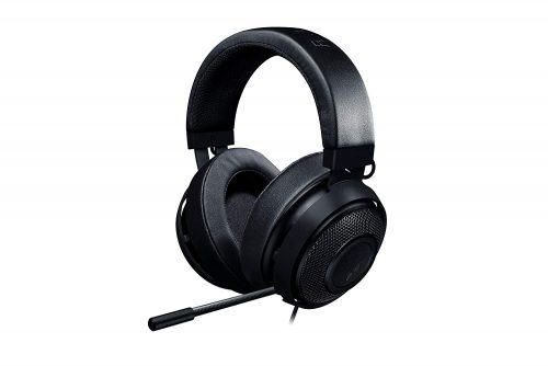 Razer Kraken Pro V2: Lightweight Aluminum Headband - Retractable Mic - In-Line Remote - Gaming Headset Works with PC, PS4, Xbox One, Switch, & Mobile...