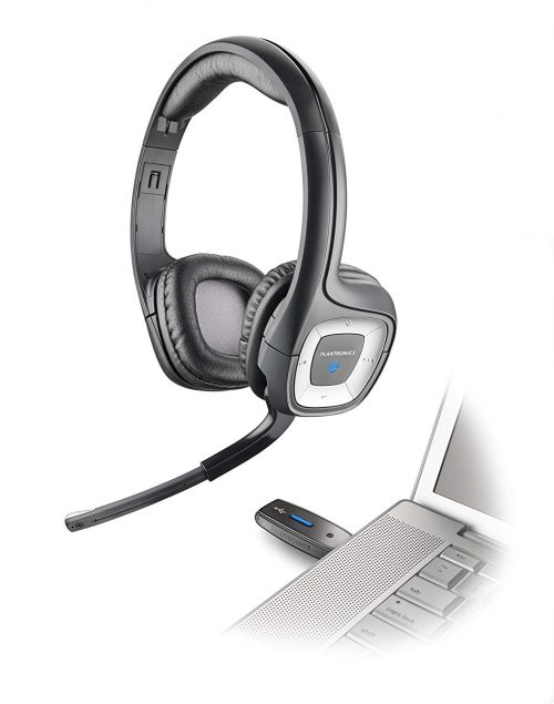 Plantronics Audio 995 USB Multimedia Headset with Noise Canceling Microphone - Compatible with PC and Mac