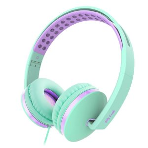 Jelly Comb On-Ear Wired Headphones with Mic