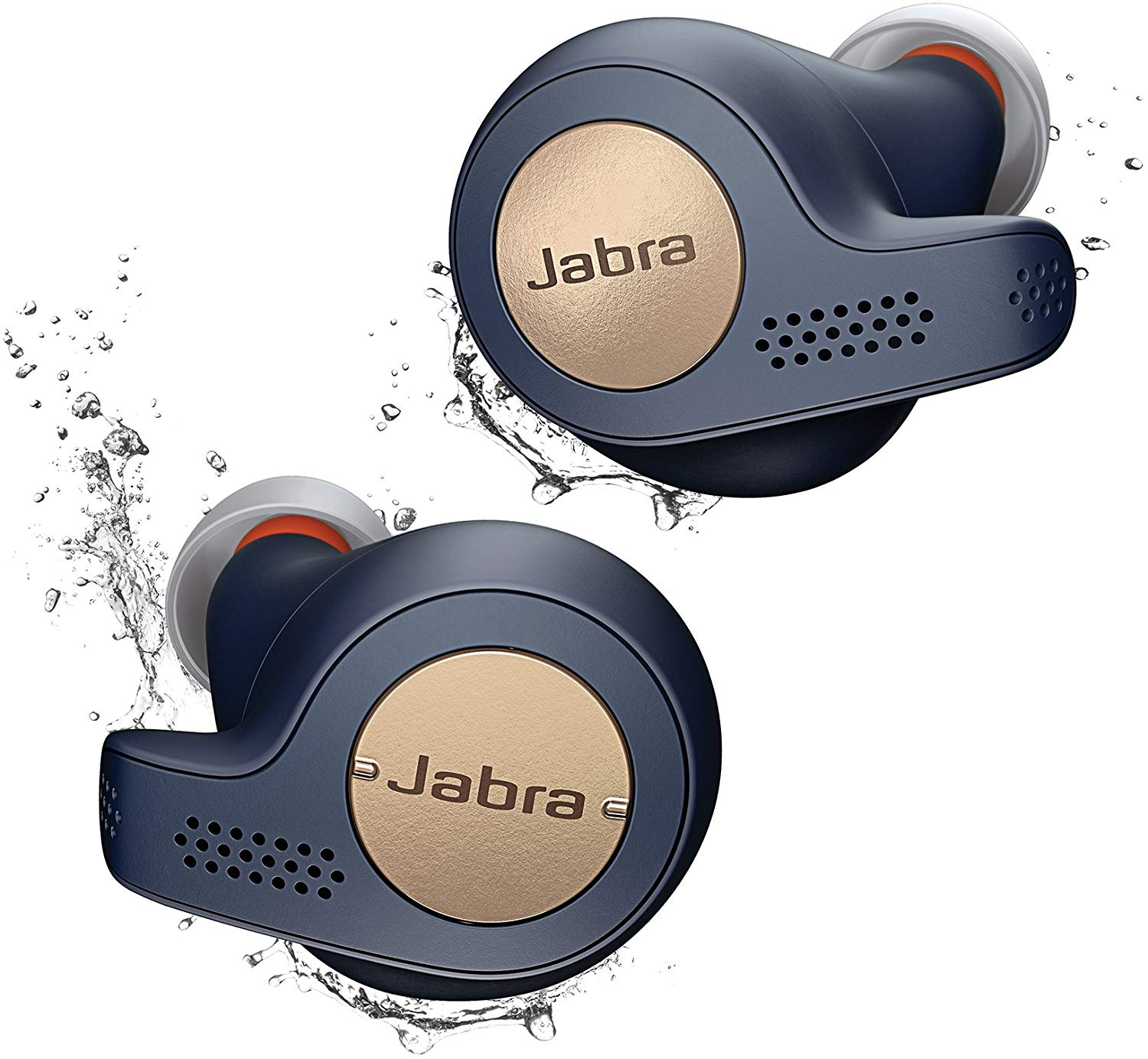 Jabra Elite Active 65t Earbuds – True Wireless Earbuds with Charging Case, Copper Blue – Bluetooth Earbuds with a Secure Fit and Superior Sound,...