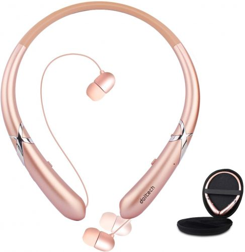 Bluetooth Headphones, Doltech Bluetooth 5.0 Neckband Headphones