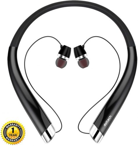 Bluetooth Headphones, DolTech Wireless Neckband Headset