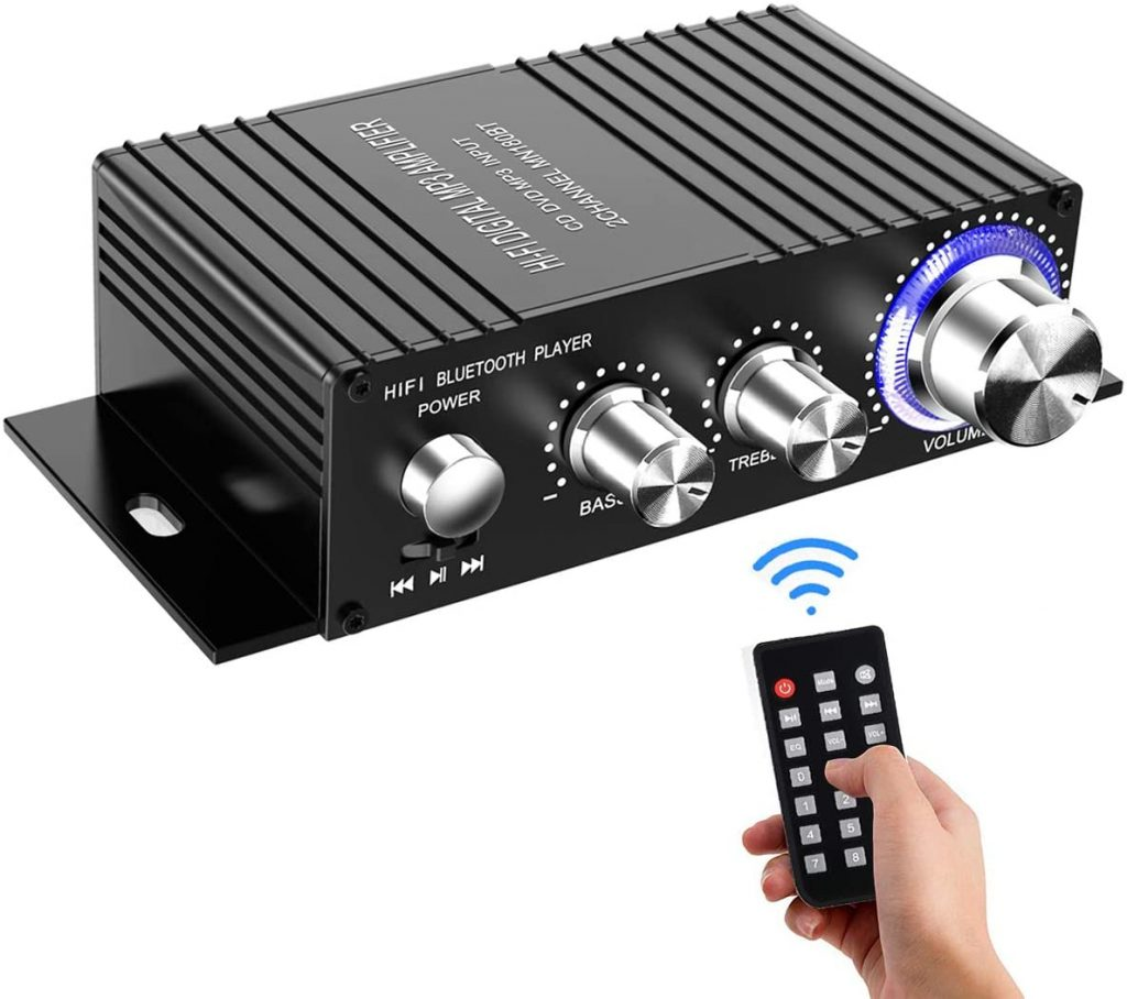 Wireless Bluetooth Stereo Mini Amplifier