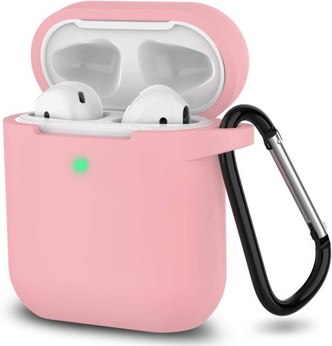 AirPods Case, Full Protective Silicone AirPods Accessories Cover
