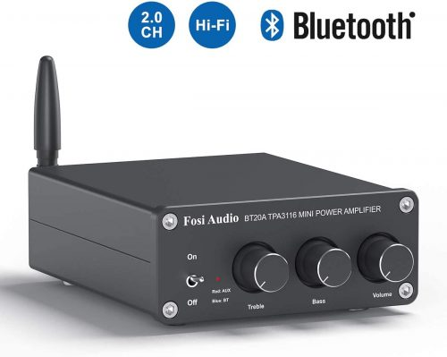 BT20A Bluetooth 4.2 Stereo Audio 2 Channel Amplifier Receiver