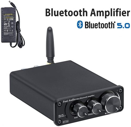 Bluetooth 5.0 Stereo Audio Amplifier Receiver
