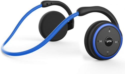 Small Bluetooth Headphones Behind The Head