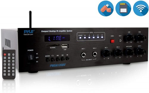 Wireless Bluetooth Public Address Amplifier