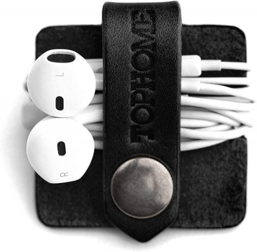 TOPHOME Cord Organizer Earbud Holders