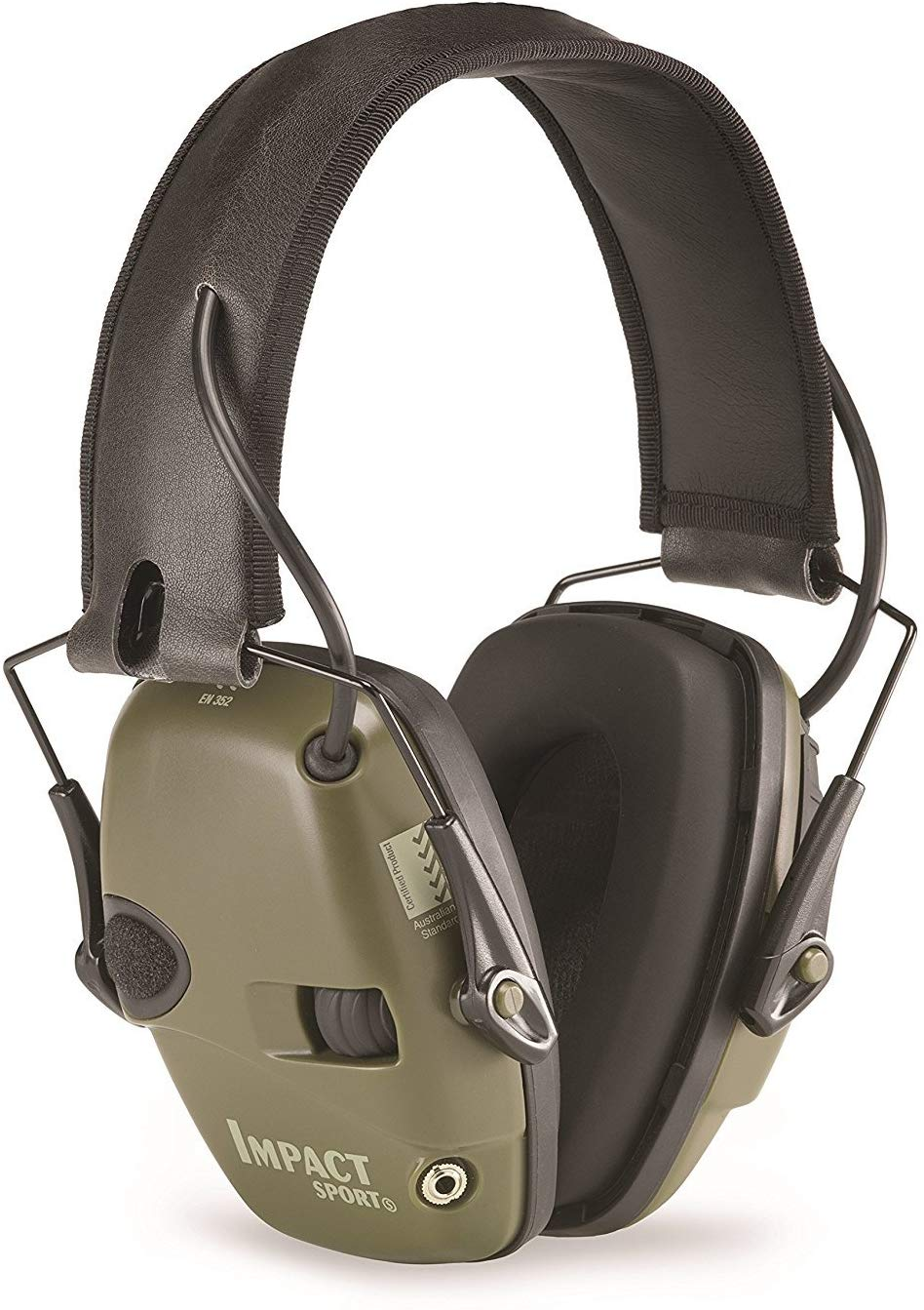 Howard Leight by Honeywell Impact Sport Sound Amplification Electronic Shooting Earmuff - Ear Protection for Shooting