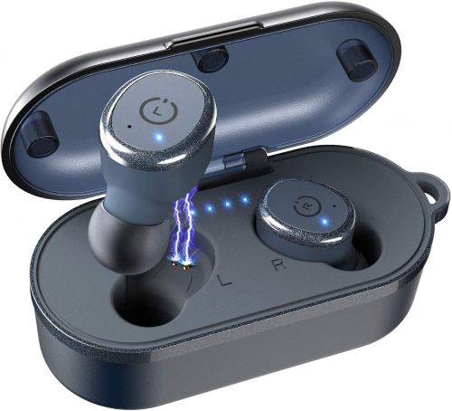TOZO T10 Bluetooth 5.0 Wireless Earbuds with Wireless Charging Case