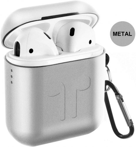 Metal Airpods Case 2019 Newest Full Protective Skin Cover