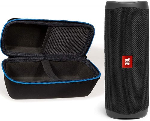 JBL FLIP 5 with a case