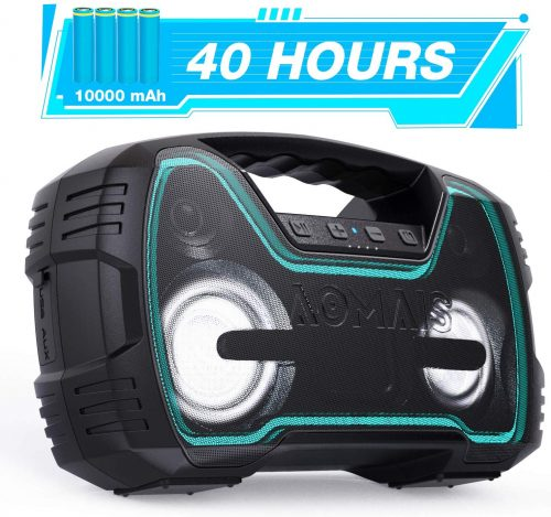 AOMAIS 40 hours - Large Portable Speakers