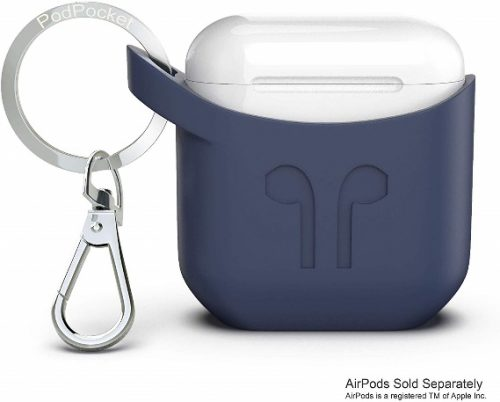 Apple iPhone Compatible Airpods Case with Keychain