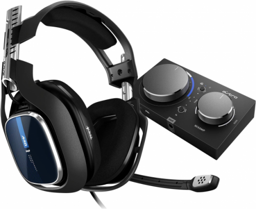 ASTRO Gaming A40 TR Wired Headset + MixAmp Pro TR with Dolby Audio for PS4, PC, Mac - Expensive Gaming Headsets