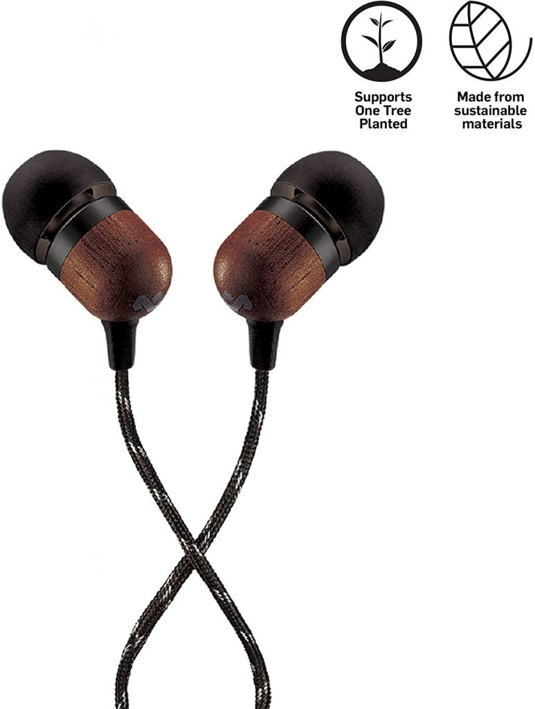 House of Marley Smile Jamaica Wired Noise Cancelling Headphones with Microphone