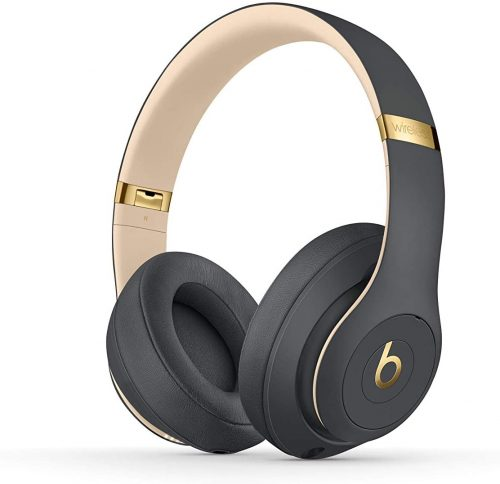 Beats Studio3 Wireless Noise Cancelling On-Ear Headphones - Apple W1 Headphone Chip, Class 1 Bluetooth, Active Noise Cancelling, 22 Hours Of Listening Time - Shadow Gray