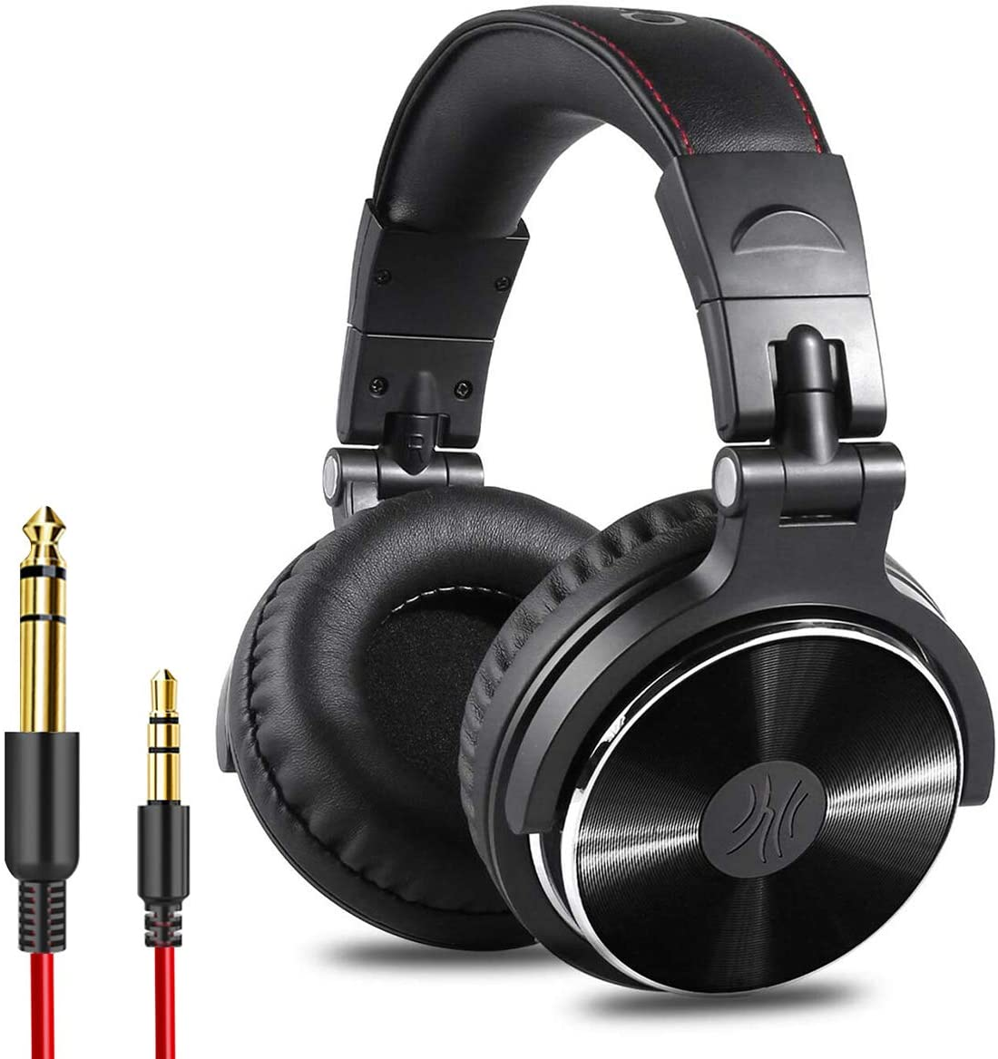OneOdio Adapter-Free Closed Back Over Ear DJ Stereo Monitor Headphones, Professional Studio Monitor & Mixing, Telescopic Arms with