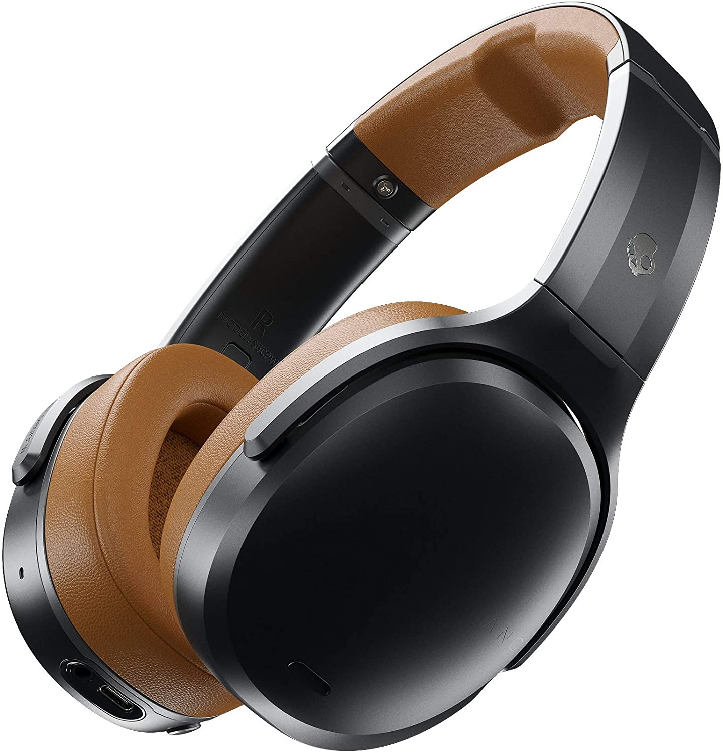 Skullcandy Crusher ANC Personalized Noise Canceling Wireless Headphone - Black/Tan