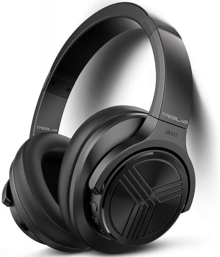 TREBLAB Z2 Bluetooth Over-Ear Headphones