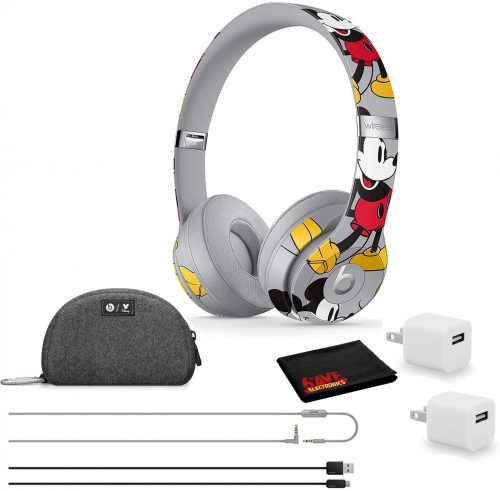 Beats by Dr. Dre Solo3 Wireless Bluetooth Headphones-Mickey's 90th Anniversary Edition