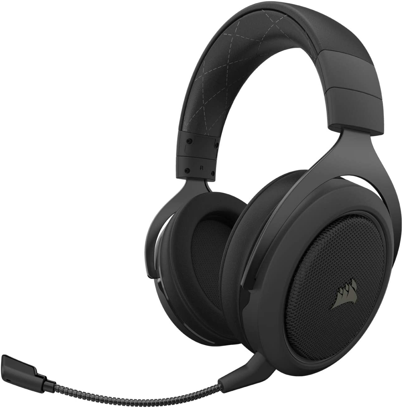 Corsair HS70 Pro Wireless Gaming Headset - 7.1 Surround Sound Headphones for PC - Discord