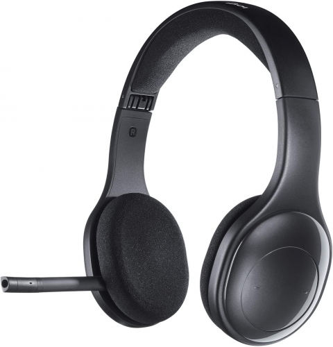 Logitech H800 Bluetooth Wireless Headset with Mic for PC, Tablets, and Smartphones