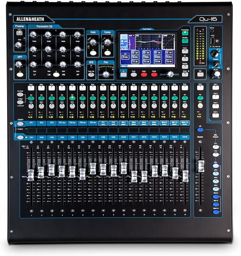 Allen & Heath QU-16C Rack Mountable Compact Digital Mixer
