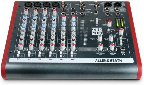 Allen & Heath ZED-10 Four Mono Mic/Lines