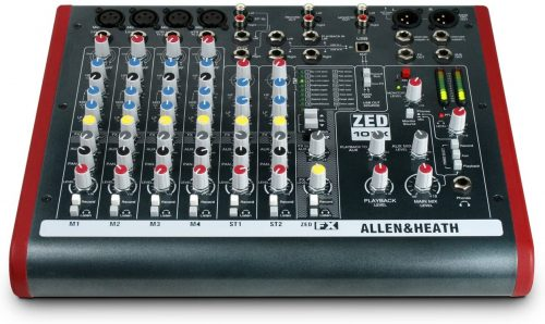 Allen & Heath ZED-10FX Four Mono Mic/Lines
