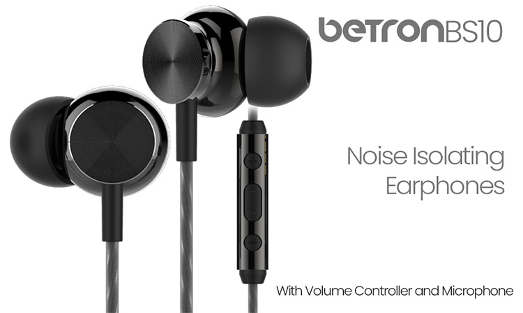 Betron BS10 Noise Isolating Headphones Review