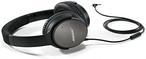 Bose QuietComfort 25 Acoustic Noise Cancelling Traveler Headphones - Black (Wired 3.5mm)