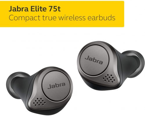Jabra Elite 75T - True Wireless Earbuds for Working Out