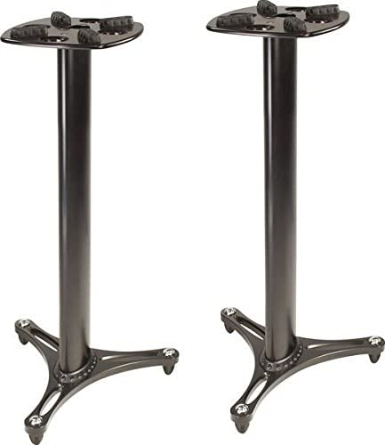 Ultimate Support MS-90/36B MS Series Professional Column Studio Monitor Stand - Mixing console stand