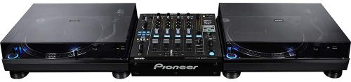 Pioneer DJ Direct Drive DJ Turntable, Black, 10.80 x 18.60 x 22.30 (PLX1000) - Cheap DJ Turntables