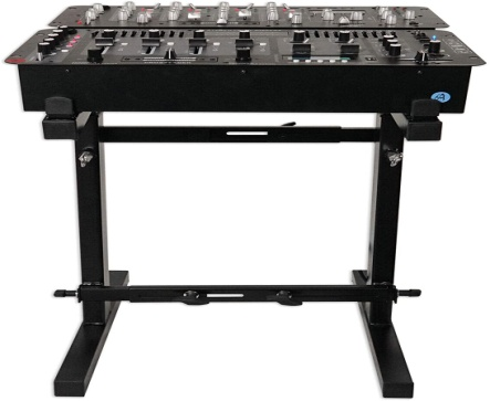Rockville Portable Mixer Stand - Adjustable Height and Width! (RXS20 ) - Mixing console stand