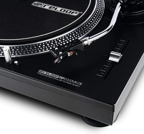 Reloop Professional Direct Drive USB Turntable System (AMS-RP-2000-USB-MK2) - Cheap DJ Turntables