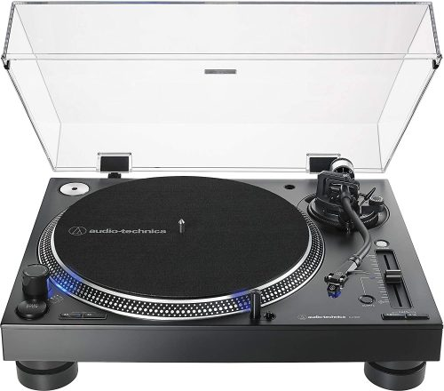 Audio-Technica AT-LP140XP-BK Direct-Drive Professional DJ Turntable - Cheap DJ Turntables