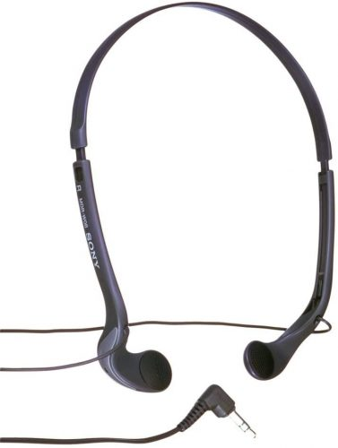 Sony MDR-W08L Vertical In-The-Ear Headphones