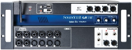 Soundcraft Ui16 Remote-Controlled 16-Input Digital Mixer
