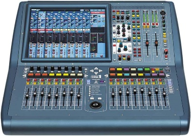 Midas Live Digital Console with 48 Input Channels, 24 MIDAS Microphone Preamplifiers, 27 Mix Buses, and 96 kHz Sample Rate (PRO1IP)