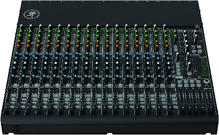 Mackie, 16 unpowered-audio-mixers, Gray (1604VLZ4)