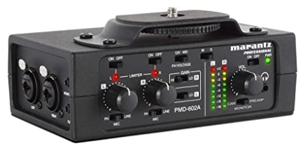 PMD-602A 2-channel DSLR Audio Interface